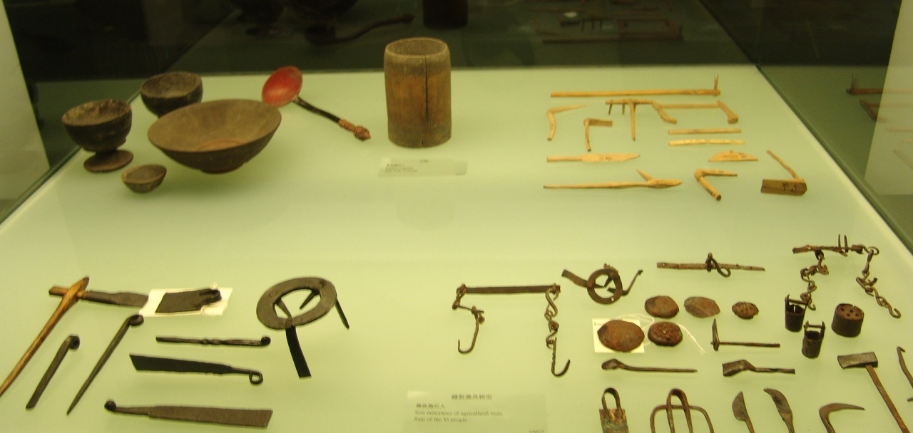 Artifacts from Ethnic Groups of Southwestern